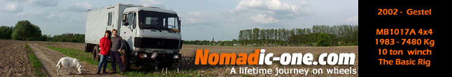 wwww.nomadic-one.com :: A long distance overland journey by 4x4 truck